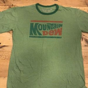 ***SOLD*** Vintage Mountain Dew T-Shirt Size XL
